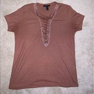 Rust colored tshirt